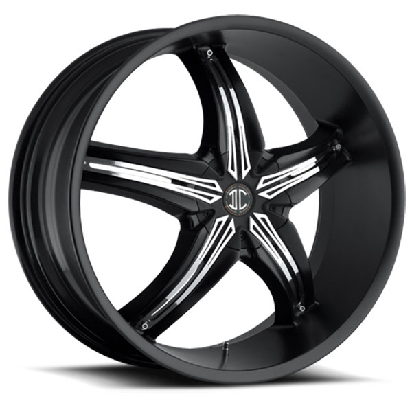 2 Crave No.5 Satin Black with Chrome Inserts B