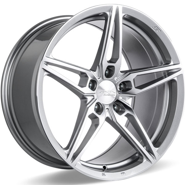 Ace Alloy AFF01 V001 Liquor Silver with Machined Face