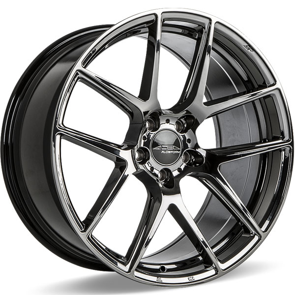 Ace Alloy AFF02 V002 Black Chrome