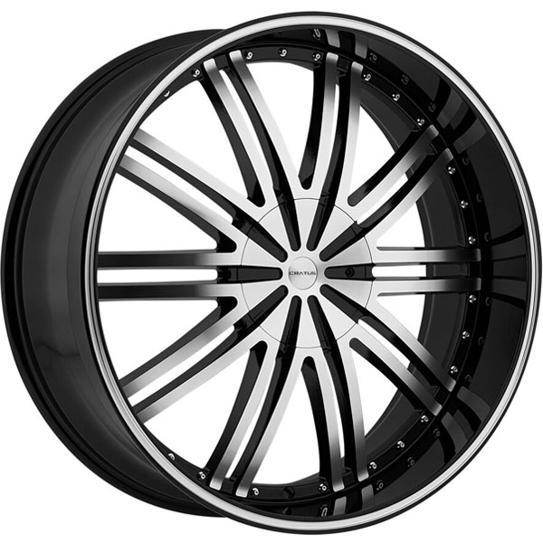Cratus CR008 Gloss Black Machined
