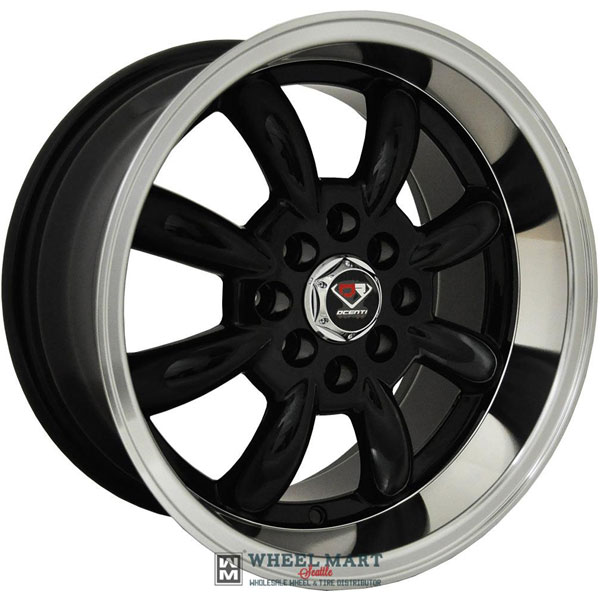 Dcenti Racing DCTL002 Black with Machined Lip