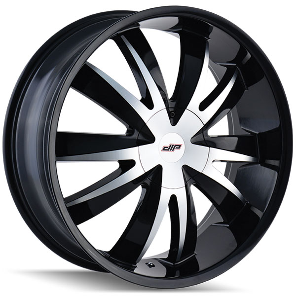 Dip D37 Edge Gloss Black with Machined Face