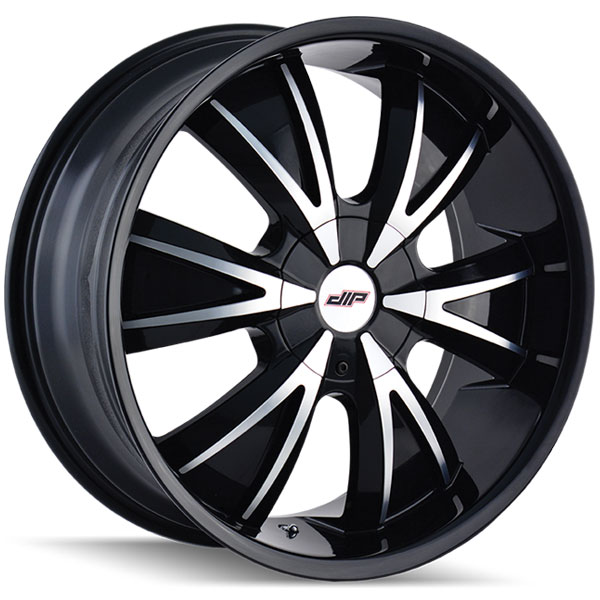 Dip D38 Vibe Gloss Black with Machined Face