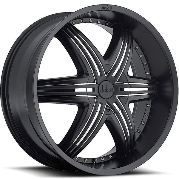 Dolce DC48 Black with Chrome Inserts