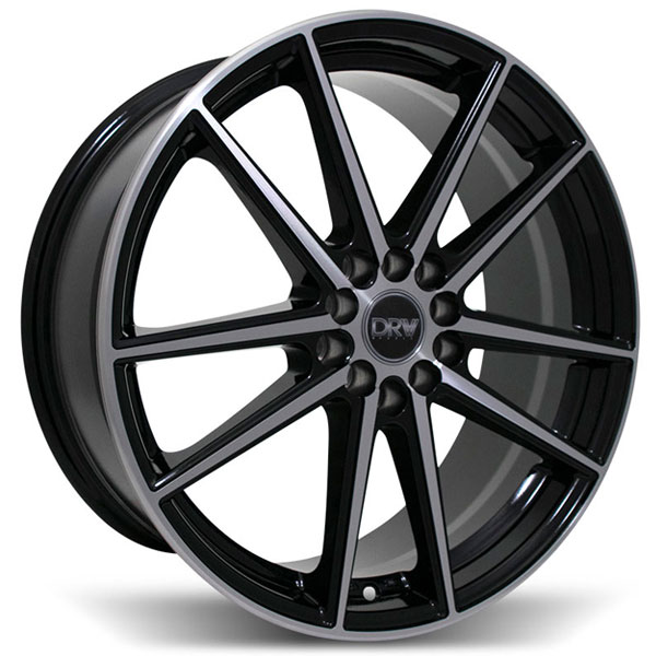 DRW D1 Black with Machined Face