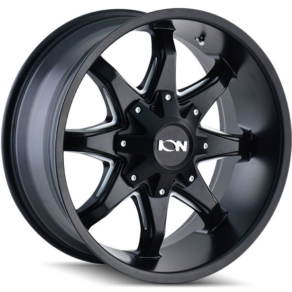 Ion Alloy 181 Black with Milled Spokes