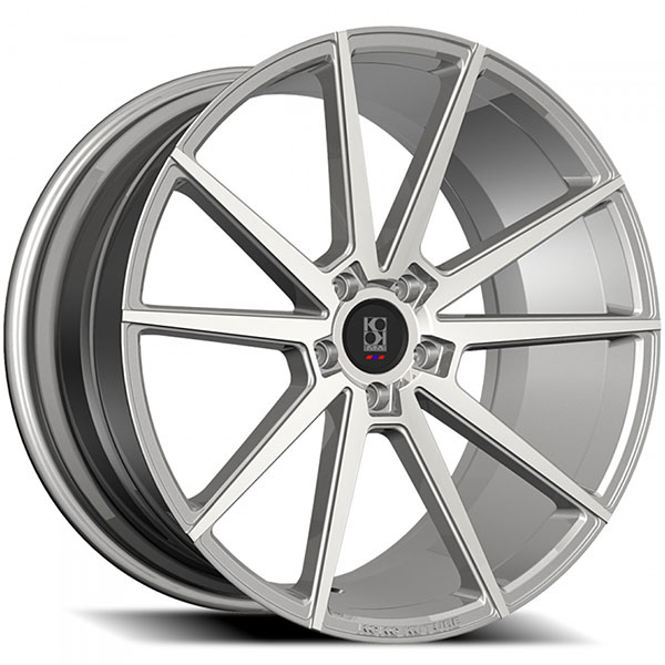 KoKo Kuture LE MANS Silver with Machined Face