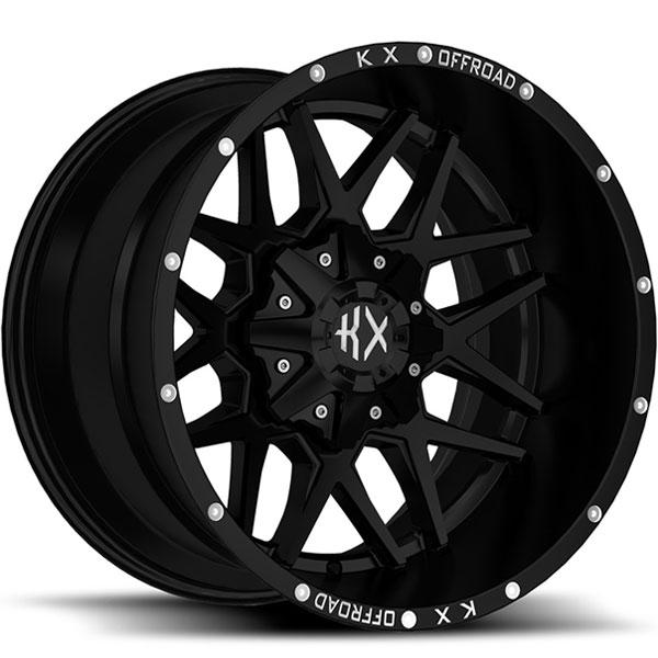 KX Offroad KX05 Matte Black