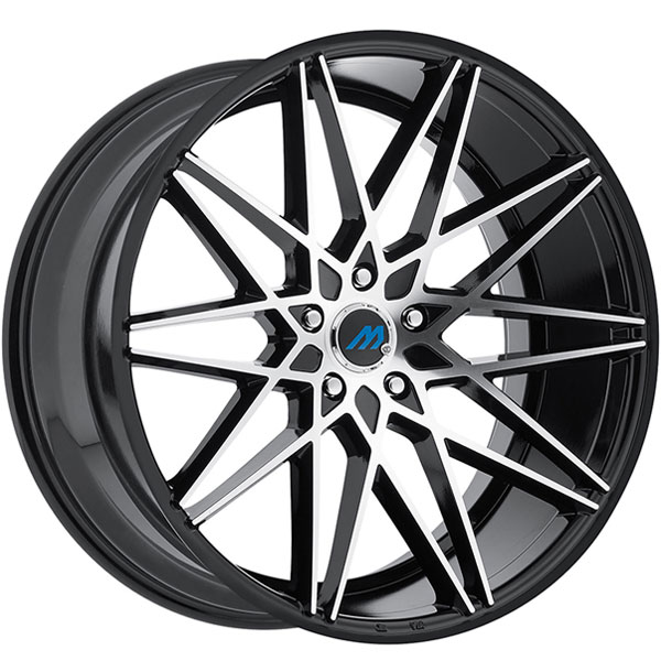 Mach ME20 Gloss Black with Machined Face