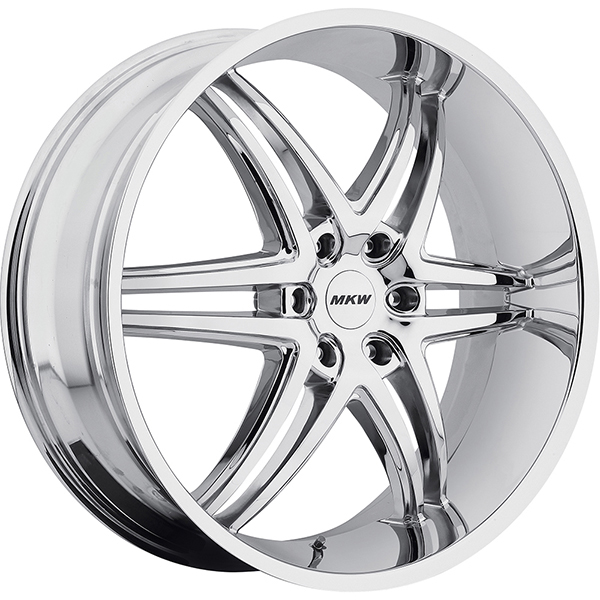 MKW M113 Chrome 6 Lug