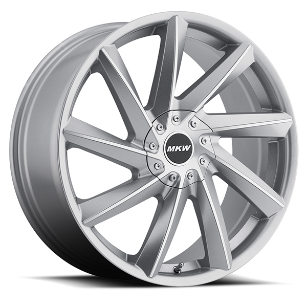 MKW M115 Gloss Silver Machined