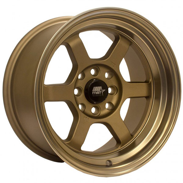 MST Time Attack Satin Bronze with Bronze Machined Lip