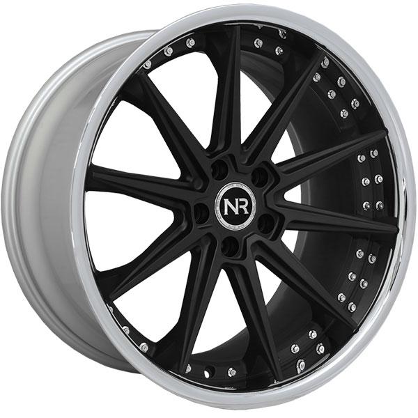 Noir Elite NR110 Matte Black with SS Lip