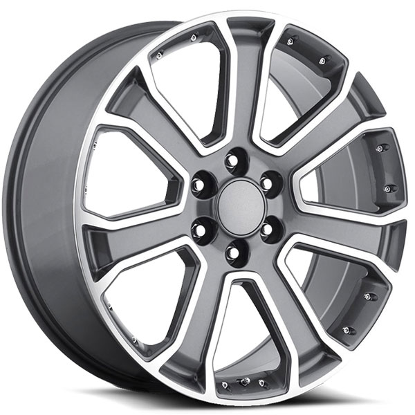 OE Revolution G-06 Gunmetal with Machined Face