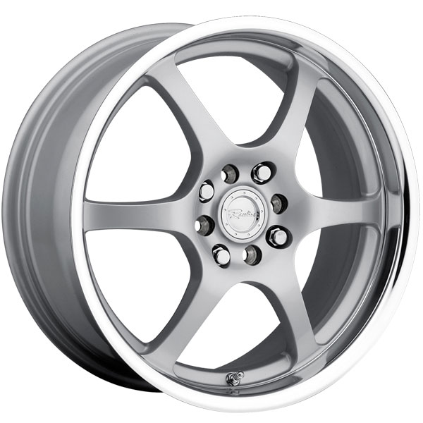 Raceline 126 Silver with Machined Lip
