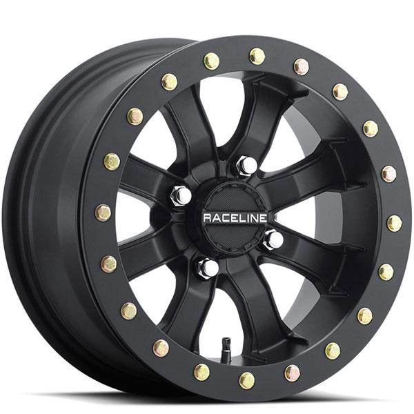 Raceline A71 Mamba UTV Beadlock Black Machined