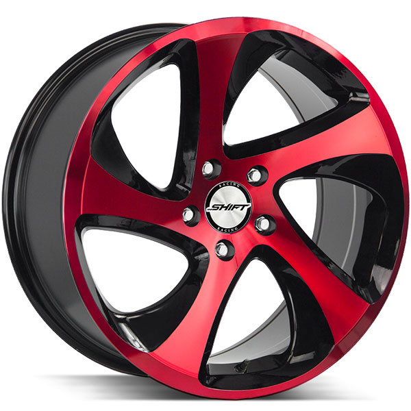 Shift Strut Gloss Black with Candy Red Face
