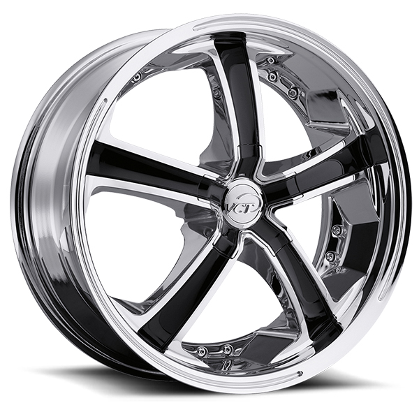 VCT Massino Chrome with Black Inserts