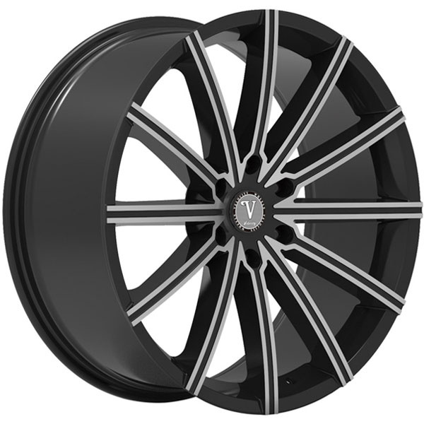 Velocity VW 23B Black with Machined Face