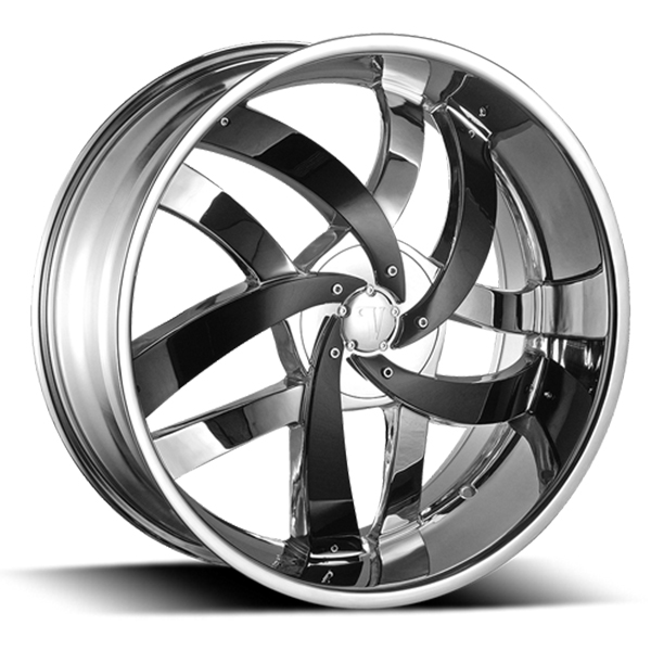 Velocity VW 825 Chrome with Black Inserts