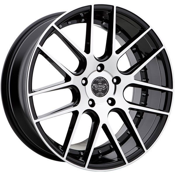 Versante 234 Black with Machined Face