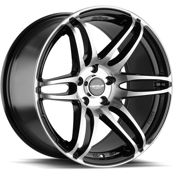 Versus VS124 Black with Machined Face