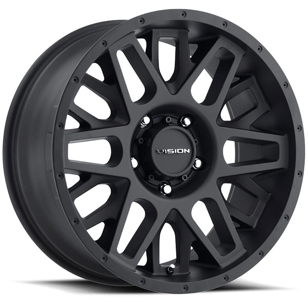 Vision 388 Shadow Satin Black