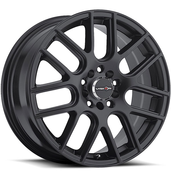 Vision 426 Cross Matte Black