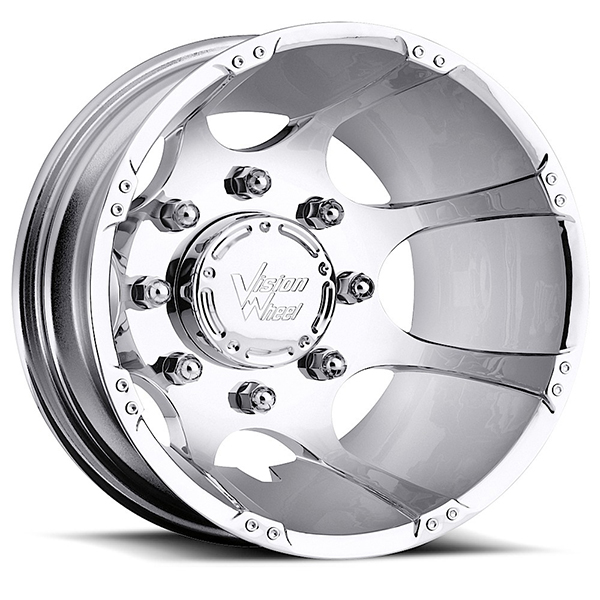 Vision 715 Crazy Eightz Duallie Chrome Rear
