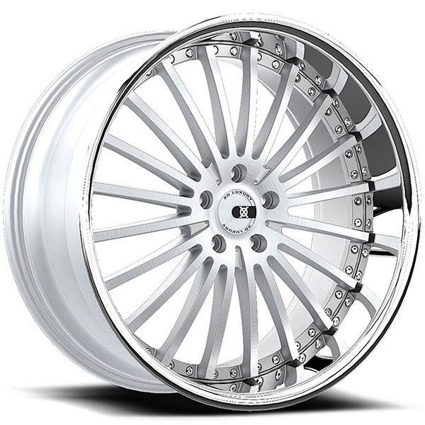XO New York X130 Silver with Machined Face and SS Lip